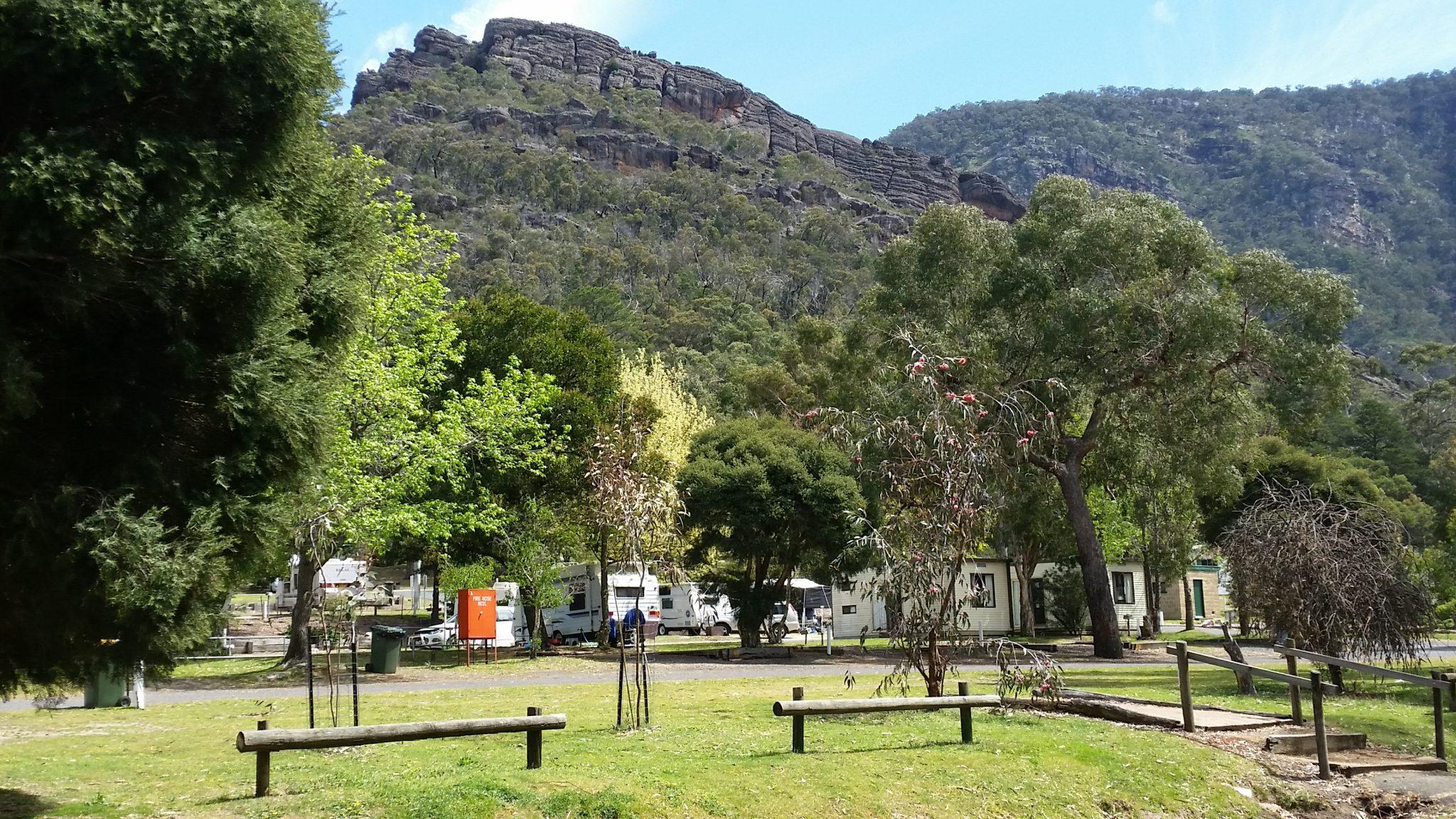 Halls Gap Caravan Park Halls Gap Tourisim